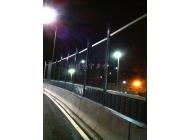 宁波火车南站高架隔声屏