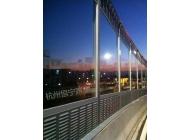 宁波火车南站高架隔声屏障3